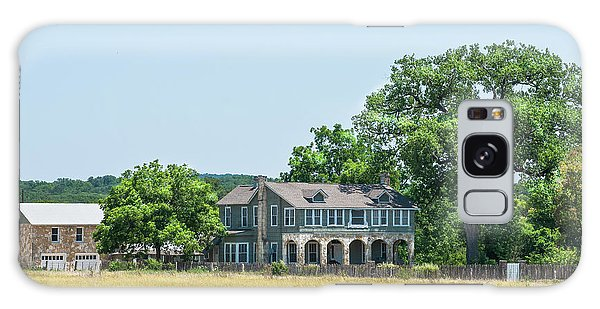 Old Texas Farm House Galaxy Case