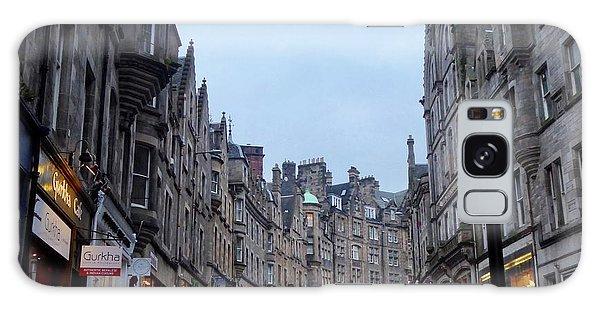 Old Town Edinburgh Galaxy Case by Margaret Brooks