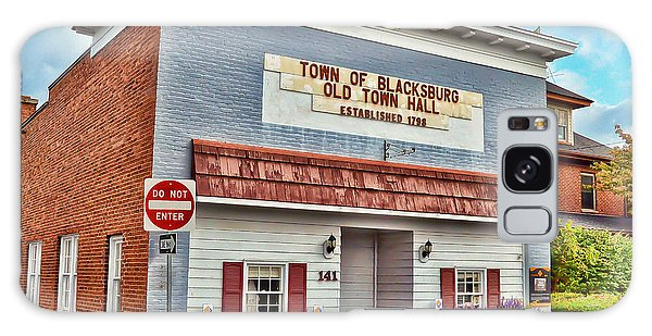 Old Town Hall Blacksburg Virginia Est 1798 Galaxy Case