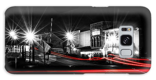 Old Town Helena At Night Galaxy Case by Shelby  Young