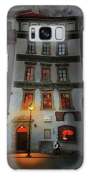 Old Town In Warsaw #17 Galaxy Case