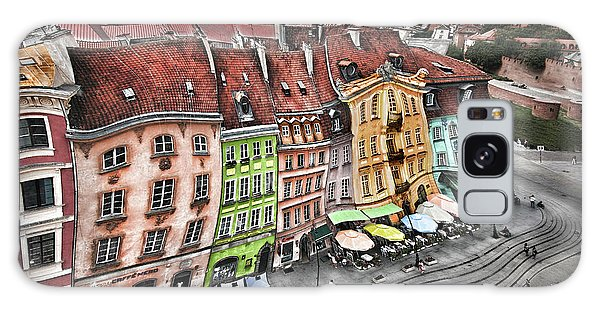 Old Town In Warsaw #20 Galaxy Case