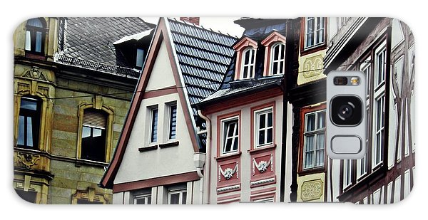 Old Town Mainz Galaxy Case by Sarah Loft
