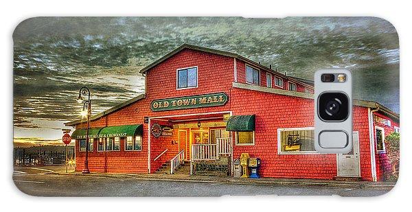 Old Town Mall Bandon Galaxy Case