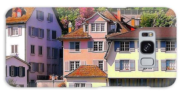 Old Town Zurich, Switzerland Galaxy Case
