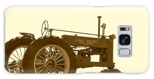 Old Tractor IIi In Sepia Galaxy Case