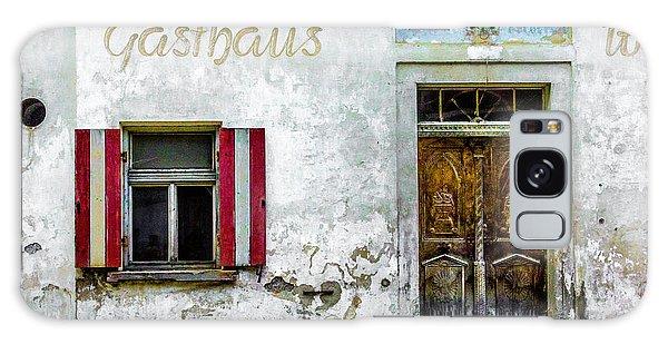 Old Traditional Austrian Tavern Galaxy Case
