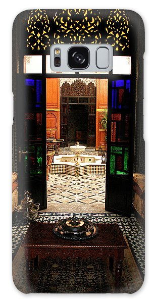 Old Traditional Riad In Fez Galaxy Case