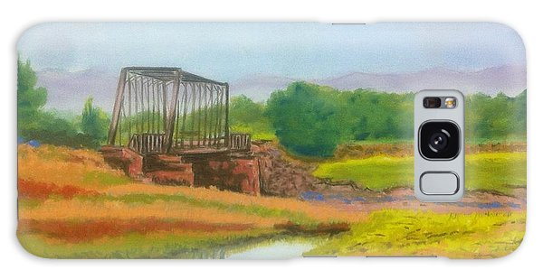 Old Train Bridge -annapolis Royal  Galaxy Case