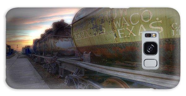 Old Train - Galveston, Tx 2 Galaxy Case