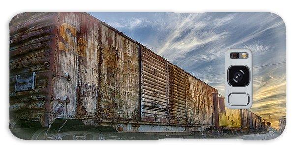 Old Train - Galveston, Tx Galaxy Case
