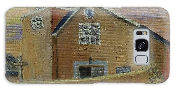 Old Truches Mission Of Holy Rosary -- Sold Galaxy Case by Judith Espinoza