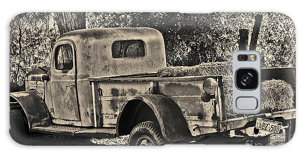 Old Truck Galaxy Case
