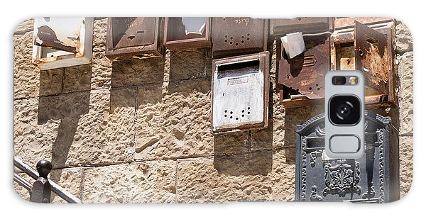 Old  Mailboxes In Jerusalem Galaxy Case