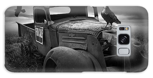 Old Vintage Chevy Pickup Truck With Ravens Galaxy Case