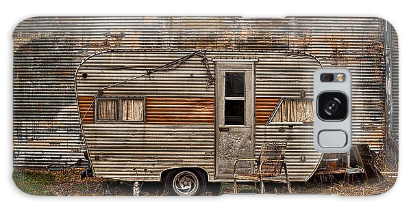 Old Vintage Rv Camper In The Mississippi Delta Galaxy Case
