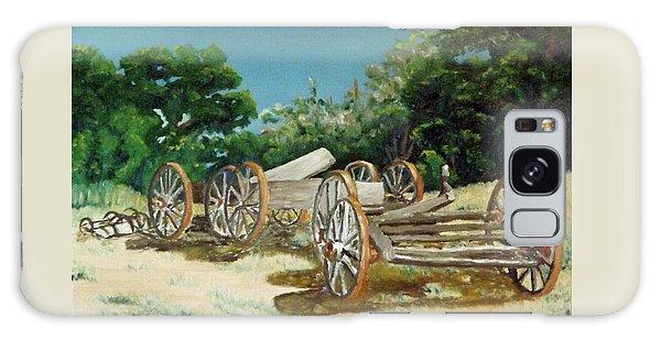 Old Wheels Galaxy Case