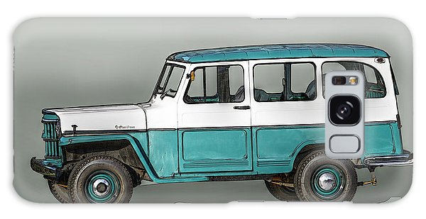 Old Willys Jeep Wagon Galaxy Case