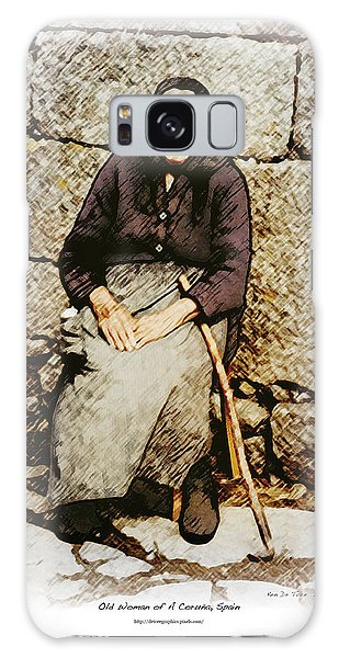 Old Woman Of Spain Galaxy Case