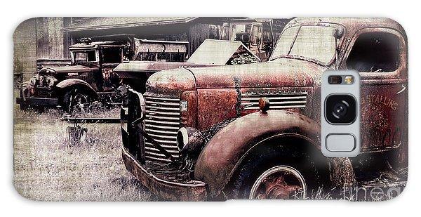 Old Work Trucks Galaxy Case