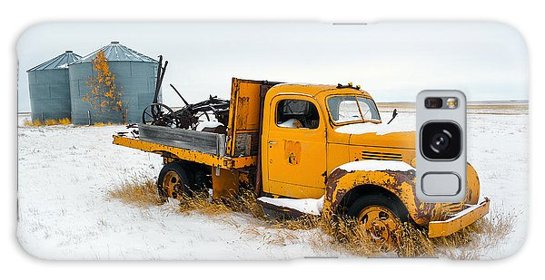 Truck Galaxy Case - Old Yellow by Todd Klassy