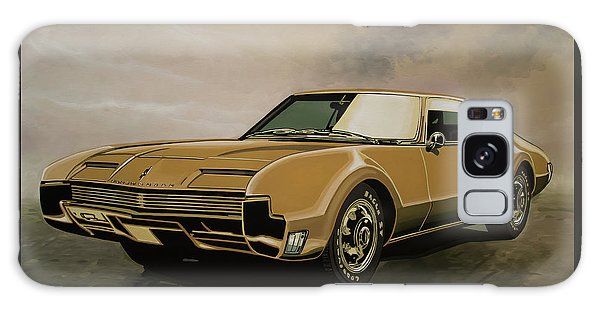 Coupe Galaxy Case - Oldsmobile Toronado 1965 Painting by Paul Meijering