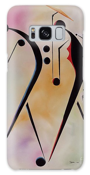 Abstract People Galaxy Case - Ole Folks by Ikahl Beckford