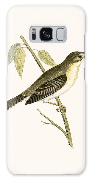 Song Bird Galaxy Case - Olivaceous Warbler by English School