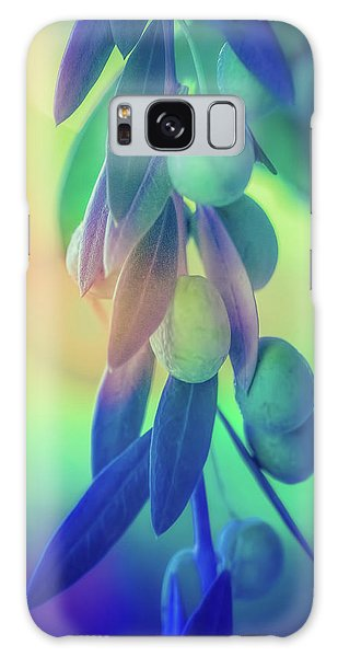 Olive Branch Galaxy Case - Olive Branch In Color by Terry Davis
