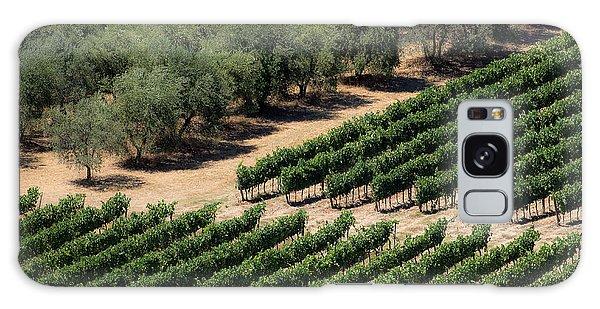 Olive Grove Meets Vineyard Galaxy Case