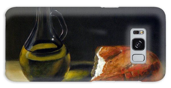 Olive Oil And Bread Galaxy Case