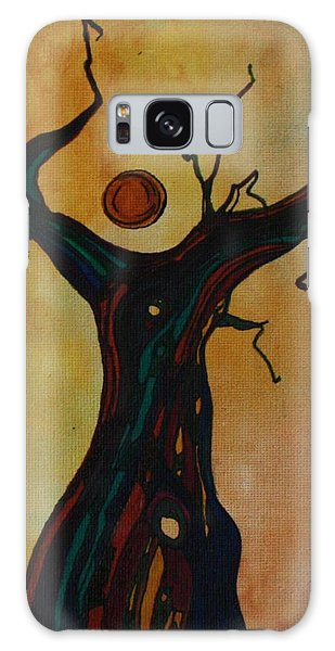 Olive Tree Woman Galaxy Case