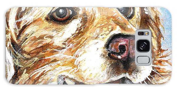 Oliver From Muttville Galaxy Case by Mary-Lee Sanders