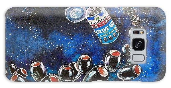Blaa Kattproduksjoner                     Oliveus Are Canned Together Can Galaxy Case