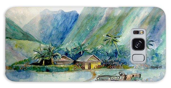 Olowalu Valley Galaxy Case by Ray Agius