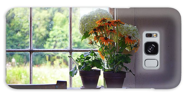 Olson House Flowers On Table Galaxy Case