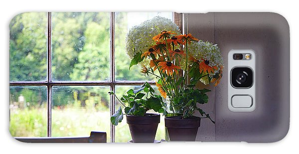 Olson House Flowers On Table Galaxy Case