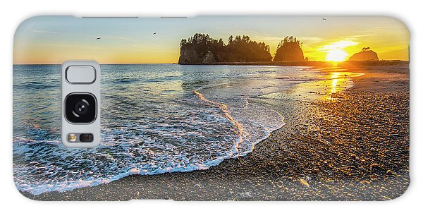 Olympic Peninsula Sunset Galaxy Case