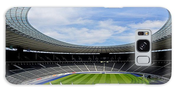Olympic Stadium Berlin Galaxy Case by Juergen Weiss