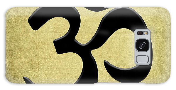 Om Gold Galaxy Case by Kandy Hurley