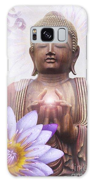 Om Mani Padme Hum - Buddha Lotus Galaxy Case