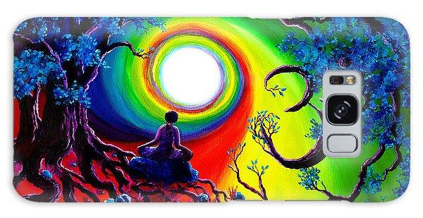 Om Tree Of Life Meditation Galaxy Case