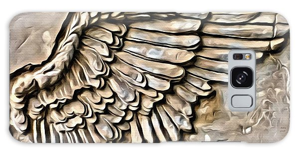 On Angels Wings Galaxy Case
