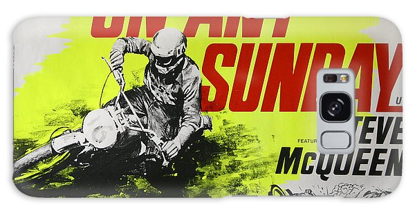 Any Galaxy Case - On Any Sunday - Steve Mcqueen  by Georgia Fowler