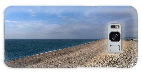 On Chesil Beach Galaxy Case by Anne Kotan