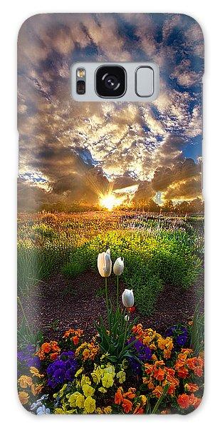 On Earth As It Is In Heaven Galaxy Case by Phil Koch