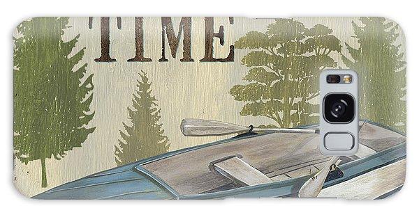 Stream Galaxy Case - On Lake Time by Debbie DeWitt