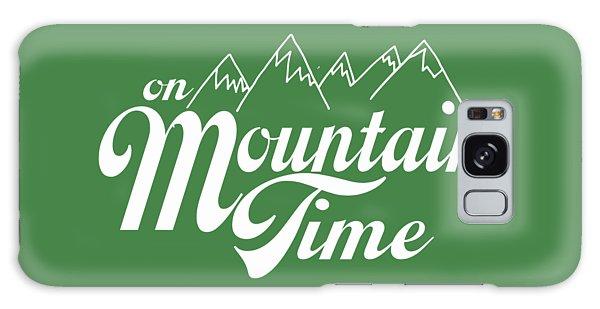 On Mountain Time Galaxy Case