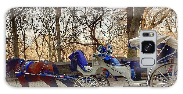 On My Bucket List Central Park Carriage Ride Galaxy Case