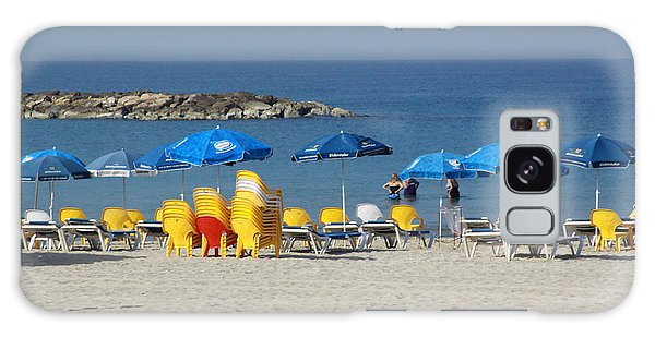 On The Beach-tel Aviv Galaxy Case